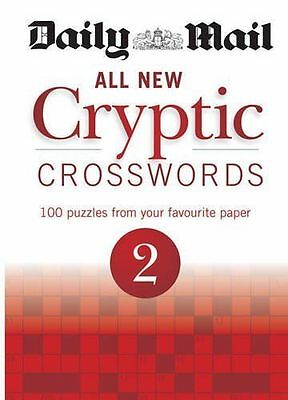 Daily Mail All New Cryptic Crosswords vol 2  BRAND NEW BOOK (Paperback, 2013)