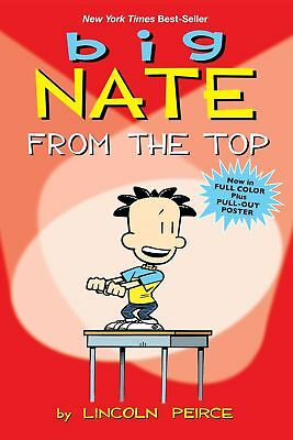 Big Nate: From the Top by Lincoln Peirce (English) Paperback Book Free Shipping!