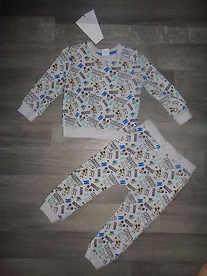 baby boy Disney Mickey mouse tracksuit joggers jumper 18-24 mths NEW