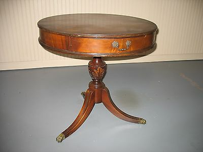 Antique Mahogany table with claw feet, made in Grand Rapis Michigan.