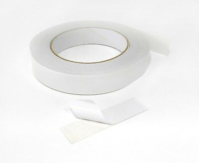 Double Sided Sticky Clear Tape Strong Craft DIY Adhesive Roll 50m - 3 Sizes