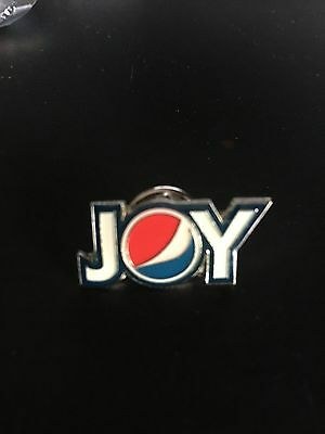 RARE Pepsi Cola Soda Pop JOY of CHRISTMAS Lapel Push Pin NEW in ORIGINAL Plastic
