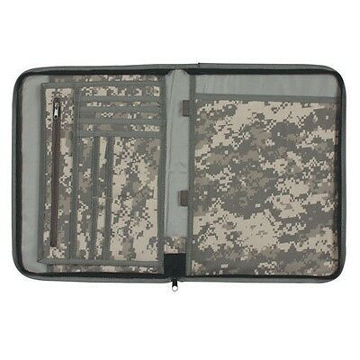 "Military 8 1/2 X 11"" Zipper Document Portfolios"
