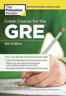 Crash Course for the Gre by Princeton Review Paperback Book