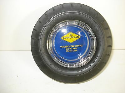 Collectible GOODYEAR TIRE ASH TRAY - FREE SHIPPING