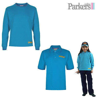 """New Official Uniform Beavers Set Sweatshirt And Polo Shirt Top And 24""""- 32"""" S3"""