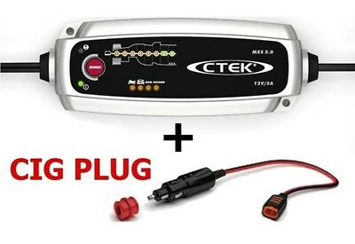 CTEK Charger MXS 5.0 Temperature Compensation Latest Version 2013 2014 GEL AGM