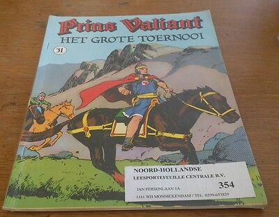 Prince Valiant No 31, Hal Foster Art,netherlands Text,1986