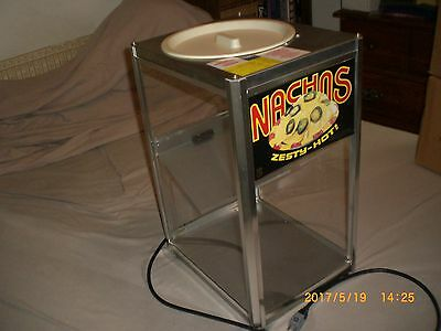 Gold Medal Products Pro Concession Nacho Chip Warmer, Model 2186, plus extras.
