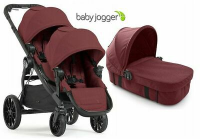 Baby Jogger City Select Lux  DLA DWOJGA 3w1 Twin Double Stroller Slate | 2017