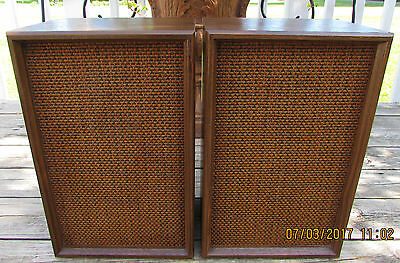 Vintage Lloyds 2W5B-219A Custom Built Air Sealed Home Speakers