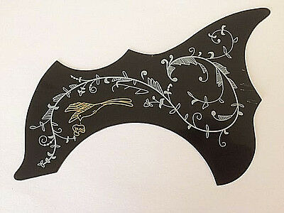 Hummingbird Pattern Self-adhensive Pickguard Scratch Plate for Acoustic Guitar