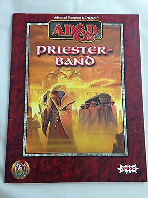 Advanced Dungeons & Dragons Priesterband AD&D Regelwerk