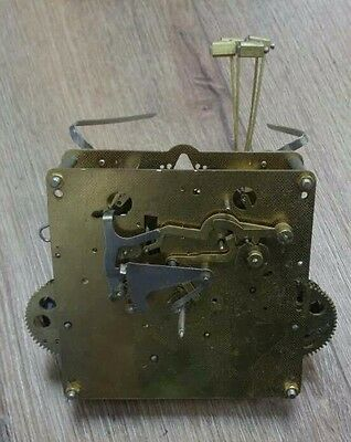 Hermle Hamilton Grandfather Clock Movement 451-050 77 (parts only) AS IS 94cm
