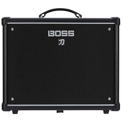 "BOSS Katana 50 50-Watt 1x12"" Guitar Combo Amplifier Amp w/ Built-In Effects"