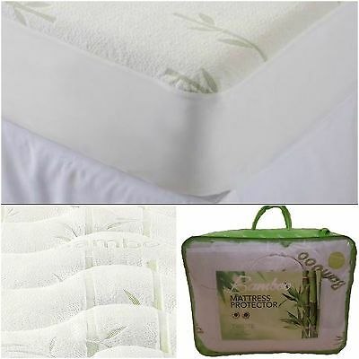 High Quality Extra Deep Quilted Bamboo Memory Foam Mattress Toppers Protector
