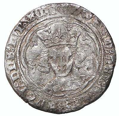 Medieval Edward III 1327-1377 AD London Mint England AR Silver Groat