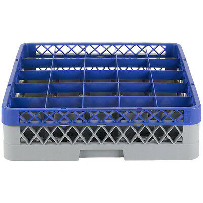 Commercial Dishwasher Machine 25 Cup Glass Tray Rack 1 Extender Dishwashing