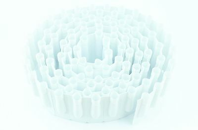 2.20 ml Plastic Disposable Perforated Suppository Shell Molds - Roll of 100