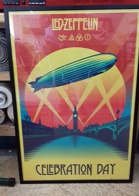 LED ZEPPELIN CELEBRATION DAY MAXI POSTER 61cm X 91.5cm JOB LOT x 9 Robert Plant