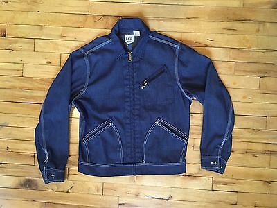 Vtg Lee 91b Jacket. Union Made Work Wear. Lee Jelt Denim