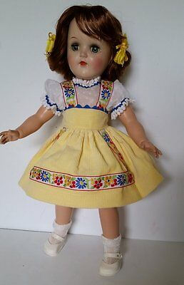 SHE'S JUST A LITTLE CUTIE WITH RED HAIR~1950's IDEAL TONI DOLL~P91