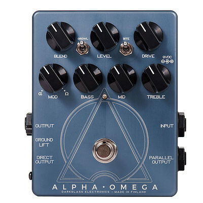 New Darkglass Alpha Omega Dual Bass Preamp/OD Pedal!