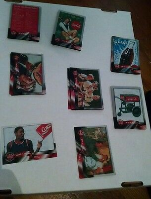 1996 Coca-Cola Sprint Cel Phone Cards Incomplete Set + doubles. Isaiah Thomas