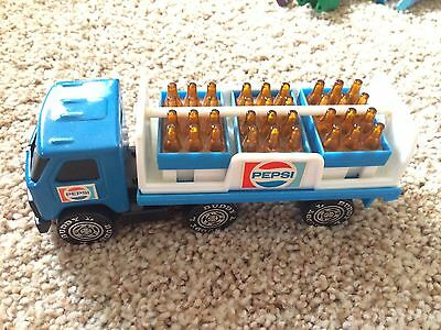Vintage Buddy L Pepsi Cola Toy Delivery Truck Advertisement