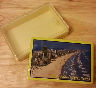 South Padre Island Texas Travel Souvenir Playing Cards Vintage
