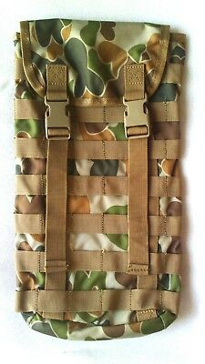 Hydration Pouch Molle 3699 Auscam + Free!! 2Lt Wide Mouth Bladder -Mil Spec -Tas