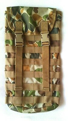 Tas 3699 - Molle Hydration Pouch Auscam + Free!! 2Lt Wide Mouth Bladder Mil Spec