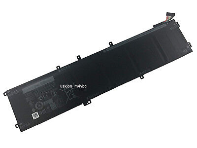 New 11.4V 97Wh 6GTPY Laptop Battery for Dell Precision 5510 XPS 15 9550 Series