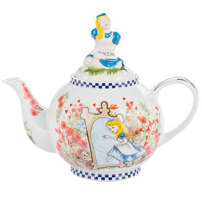 NEW Cardew Design Alice The Looking Glass Teapot w/ Alice Lid