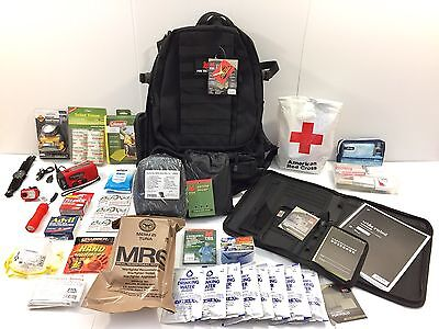 american red cross deployment backpack emergency field camp bag with organizer