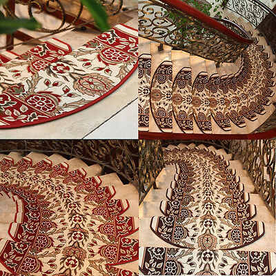 Luxury Stair Treads Mats Step Rugs Adhesive Carpet European Style Floor Mat