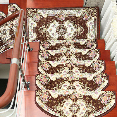 Stair Treads Pat Non Slip European Style Self Adhesive Step Mats Carpet Hotel