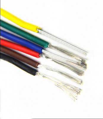 24AWG UL1015 Stranded Wire Auto PVC Equipment Hookup Cable 11/0.12TS 600V 105°C