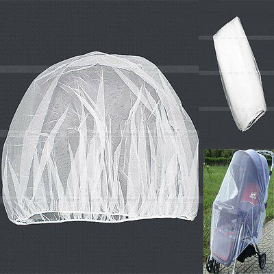 Hot Universal Stroller Pram Baggy Carry Cot Insect Mosquito Net Safe Mesh Cover