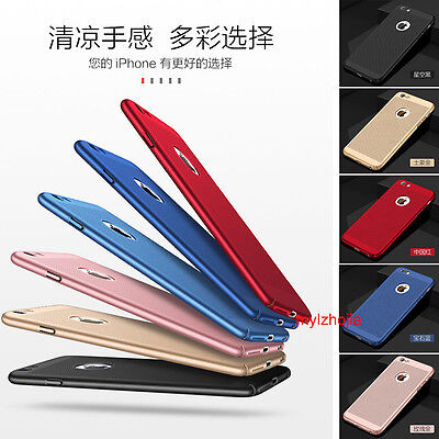 NEW Ultra Thin Slim Matte Hard Back Case Cover For Apple iPhone SE 5 6 6s 7 Plus