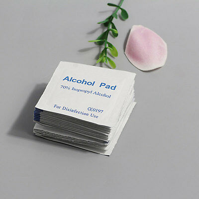 Portable Alcohol Swabs Pads Wipes Disinfection Antiseptic Cleaning Home