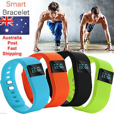 Smart Activity Fitness Tracker Fit Wristband Watch Android iPhone BAND TW64 bit