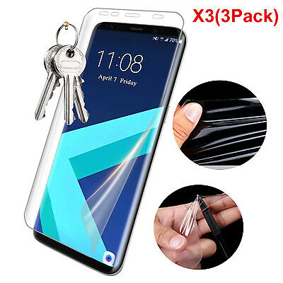 1/2/3x For Samsung Galaxy S8 / Plus Full Coverage TPU Clear Screen Protector