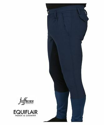 Jeffries Mens Competition Breeches - Navy, Stone or Black