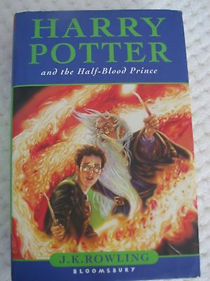 Harry Potter and the Half-Blood Prince - A. K. Rowling (HC, DJ, 1ST UK - error)