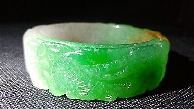 Chinese Jade/Jadeite/natheite bangle from a 40+ years old collection