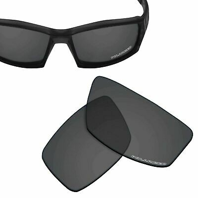 b1bbee81d71 HPO Anti-Salt Water Replacement Lenses for-OAKLEY Canteen 2006 -Black  Polarized
