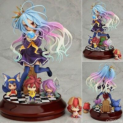 New Anime Gift No game No life Imanity Shiro 1/7 scale Painted PVC Figure