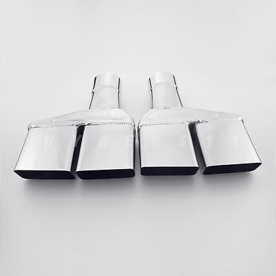"""2.5"""" Inlet Quad  Square Out Exhaust Tips for Dodge Challenger 1970/71/72/73/74"""