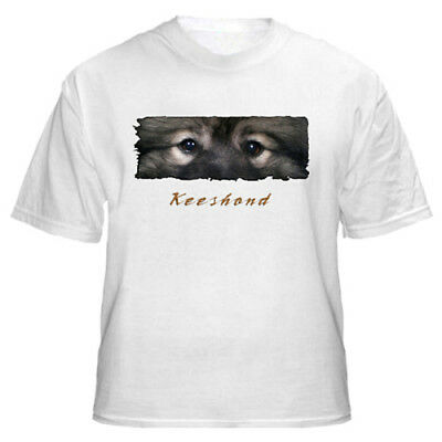 "Keeshond  "" The Eyes Have It "" Tshirt"